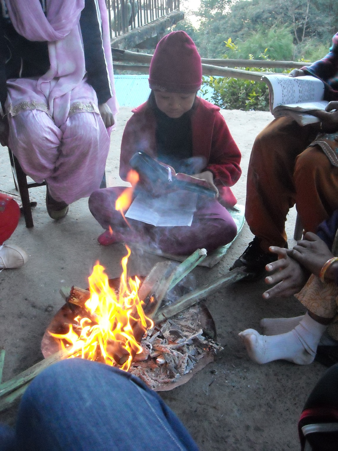 Fellowship around the fire in Nepal | WWR