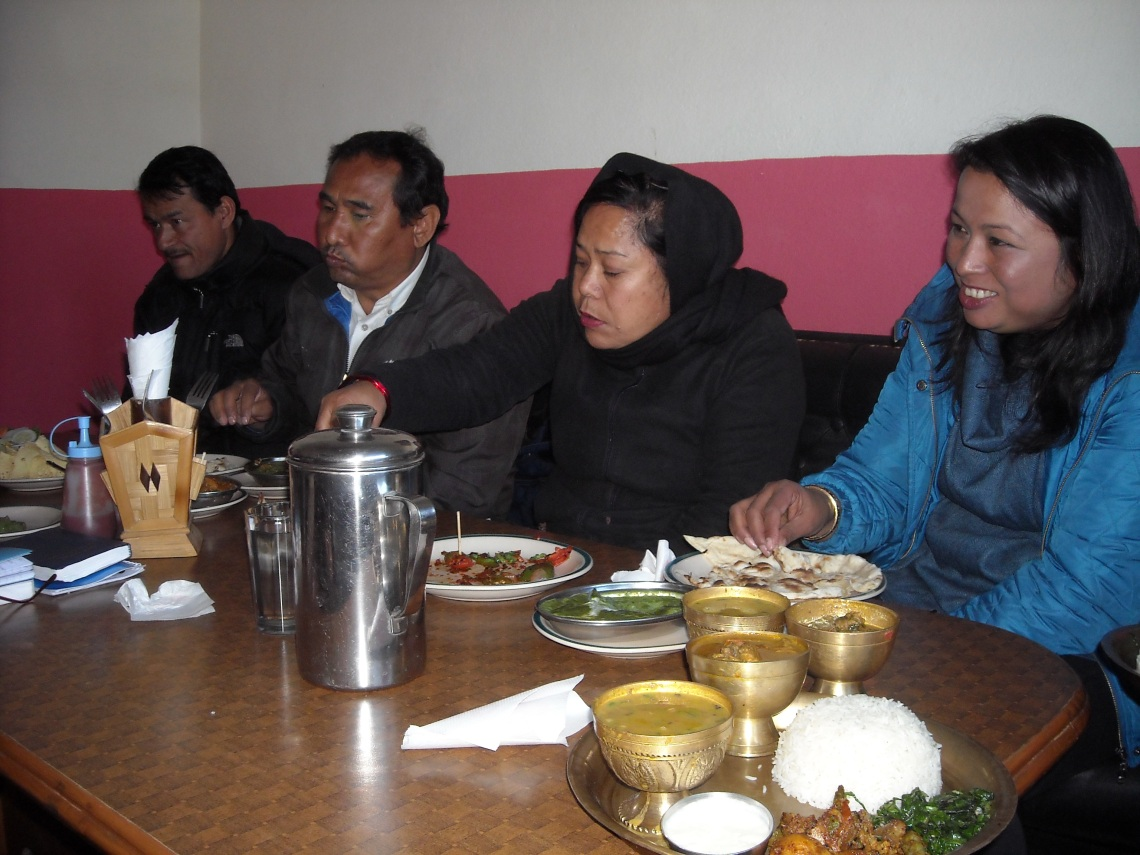 Board meeting in Nepal