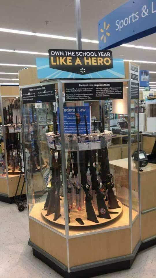 #boycottwalmart #boycottnra walmart gun violence