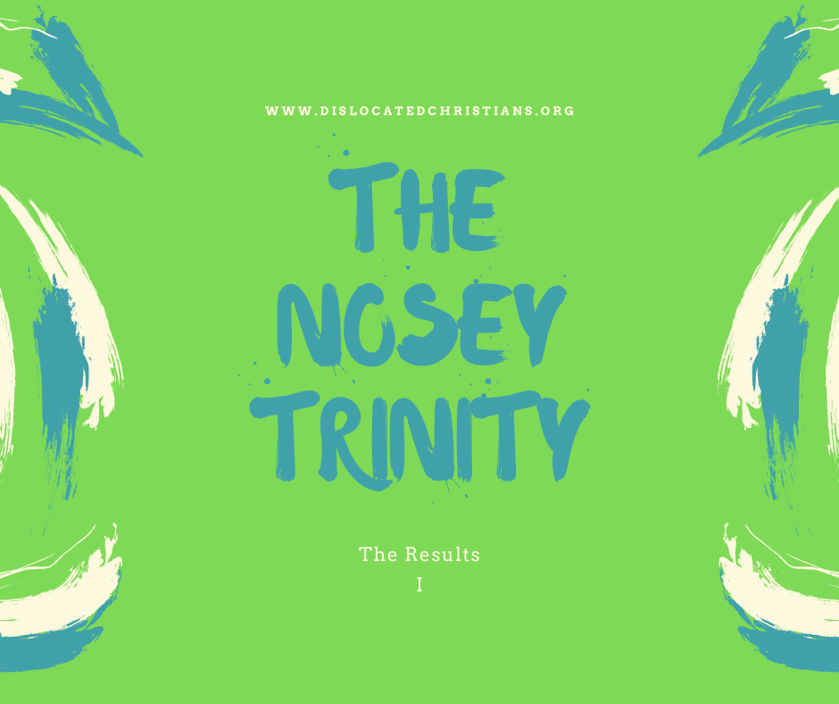 Nosey Trinity Three Quick Questions about Christian Life Dislocated Christians Results