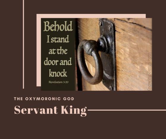 Door knocker Revelation 3:20 I stand at the door and knock